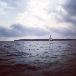 Segeln vor Sardinien im Oktober